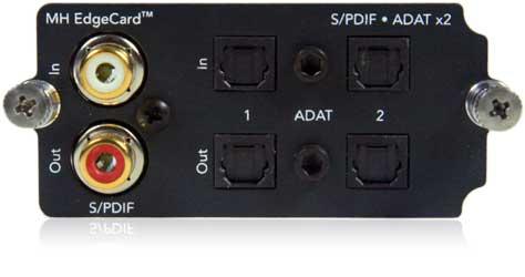 SPDIF • ADAT x2