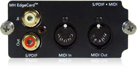 SPDIF • MIDI