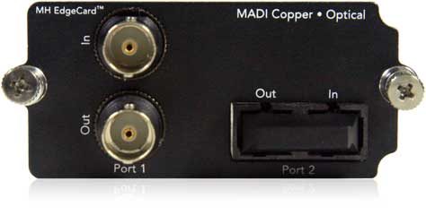 MADI Copper • Optical