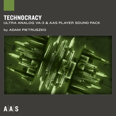 Technocracy—Adam Pietruszko sound pack for Ultra Analog VA-3