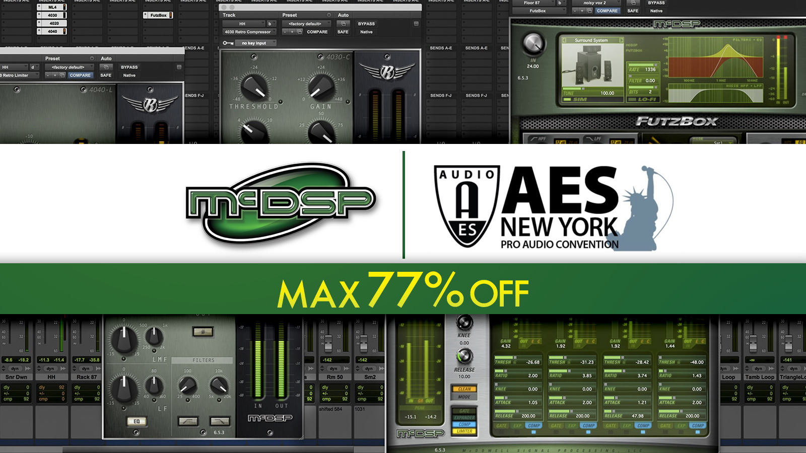 McDSP SiteWide Sale. AES Special! 全品対象、最大77%オフ!