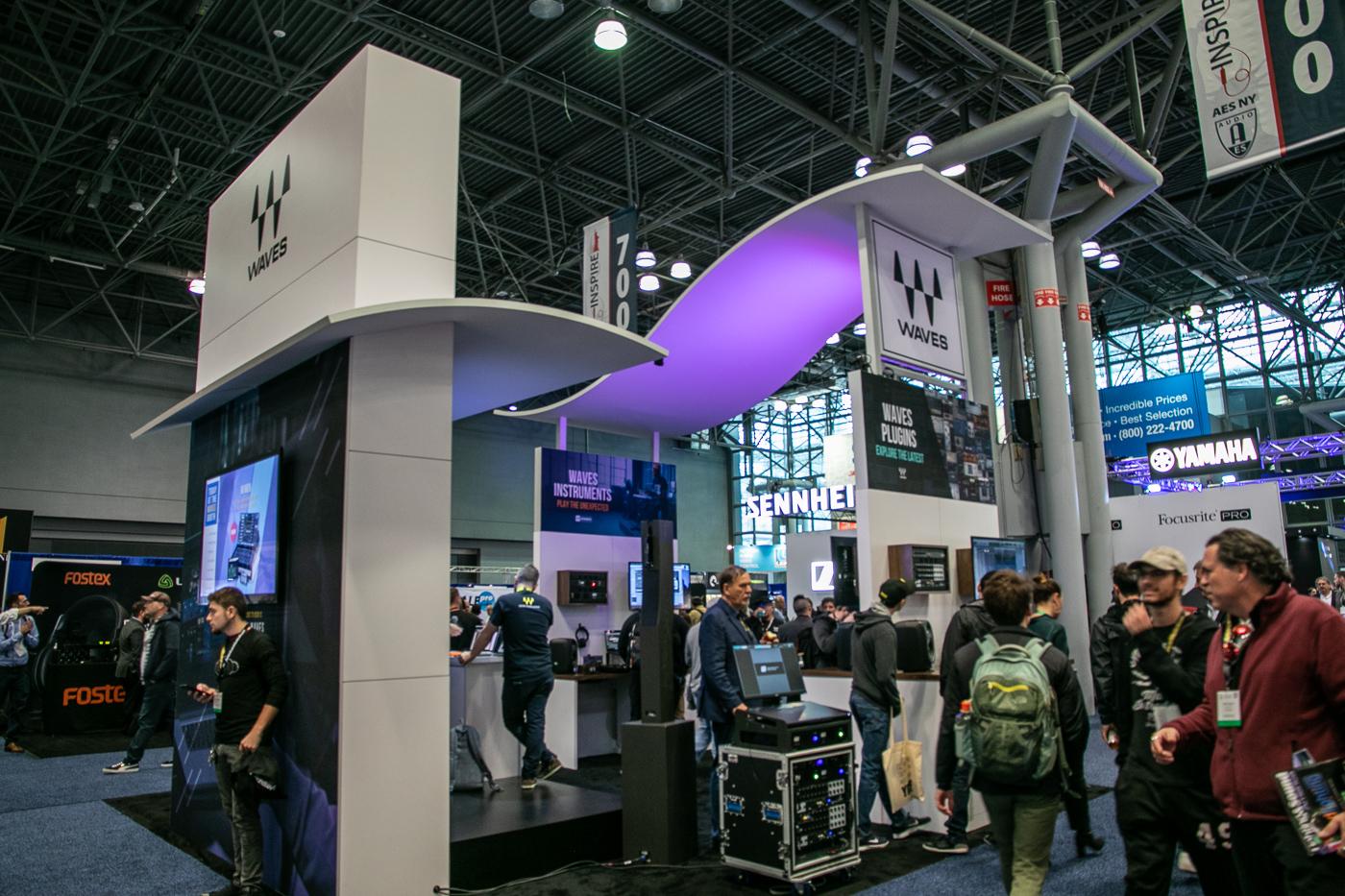 AES New York 2019にてWavesLiveの新製品とLV1のアップデートを公開!