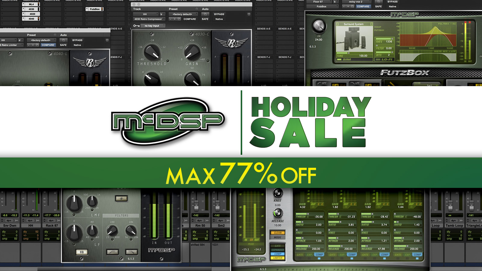 最大77%オフ!McDSP Holiday Sale 2019 – 2020!