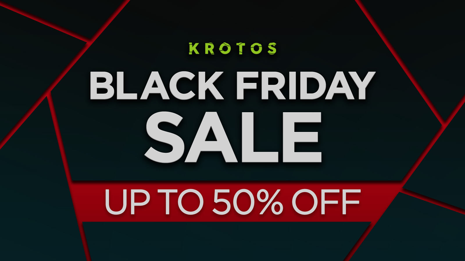 KROTOS Black Friday 2019