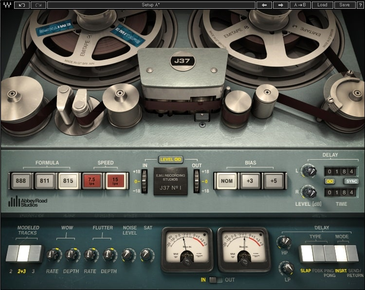 Waves Abbey Road J37 Tape
