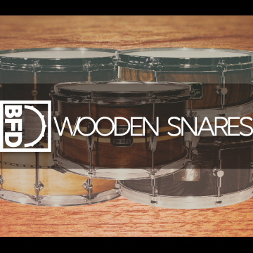 BFD Wooden Snares: BFD3 Expansion Pack