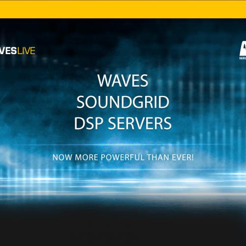 WavesLive、第9世代のIntel CPUを搭載したSoundGridサーバーを発表。