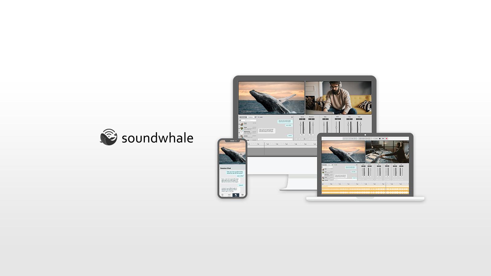 Soundwhale – リモートからでもネットワークでリアルタイムにレコーディング・セッション