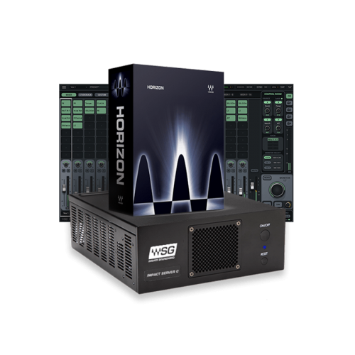 SoundGrid Connect Combo: Horizon + Impact Server-C + SoundGrid Studio 64-Ch