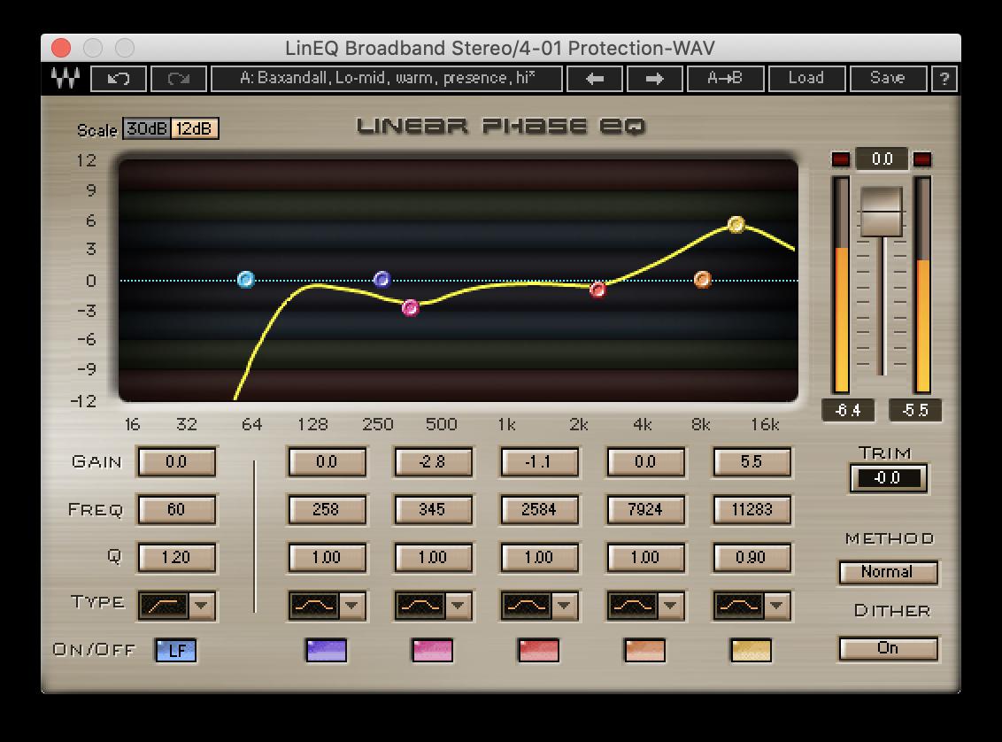 Linear Phase EQ