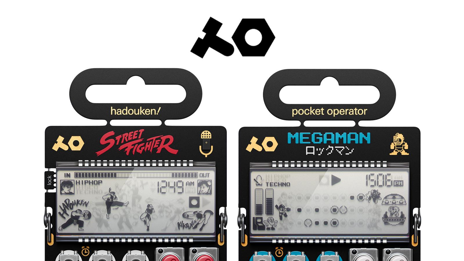 teenage engineering POシリーズにCAPCOM「ストリートファイターII」「ロックマン(Mega Man)」とのコラボレーション・モデルが新登場