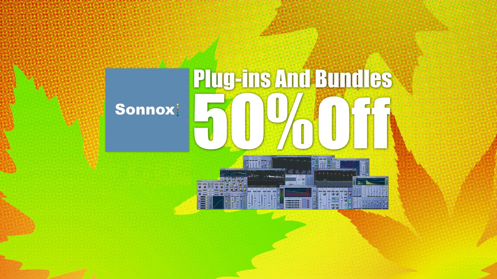 全品50%OFF! Sonnox Black Friday Sale 2020