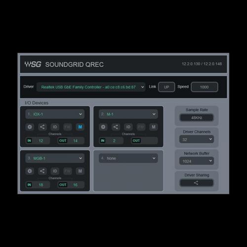 SoundGrid QRec