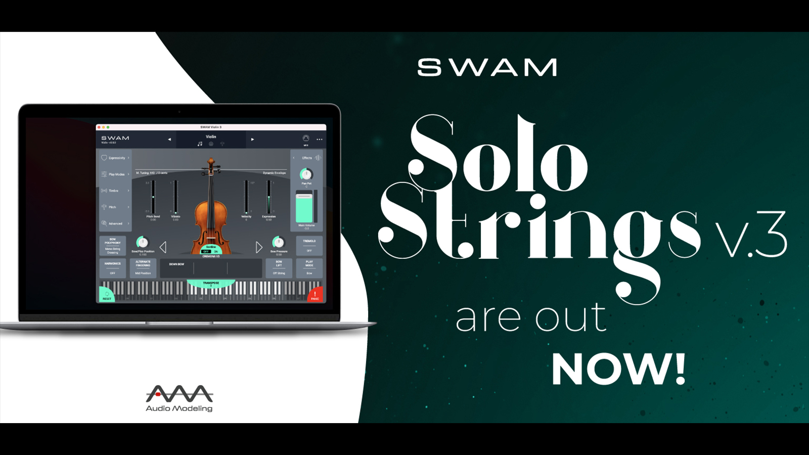 Audio Modeling  SWAM Strings v3リリース