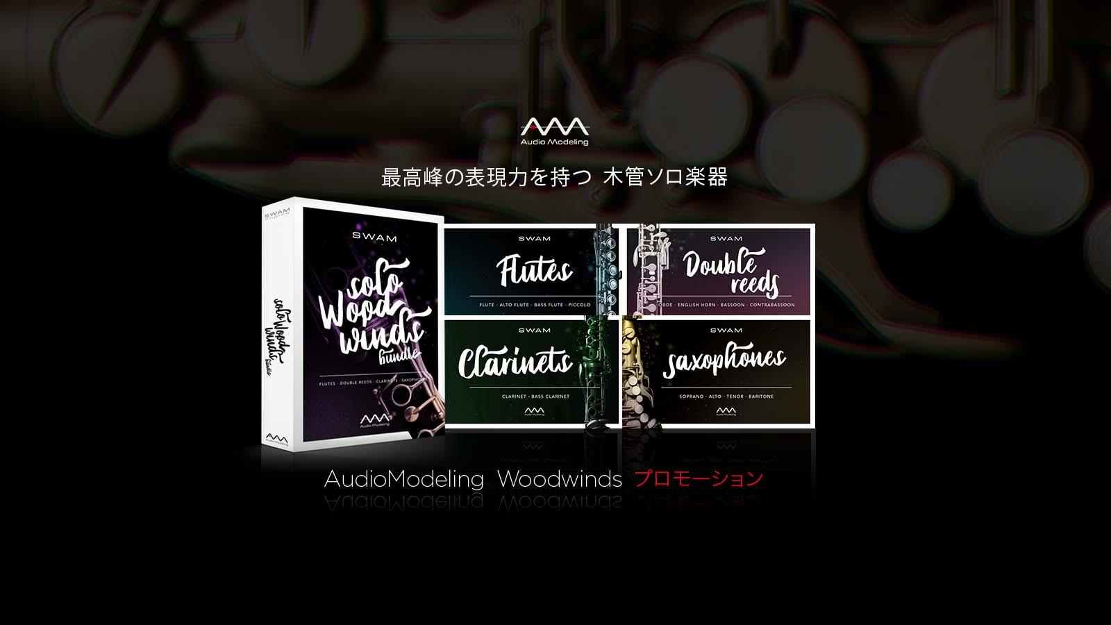 Audio Modeling Woodwinds プロモーション
