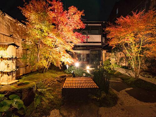 日本庭園付き町家の画像1