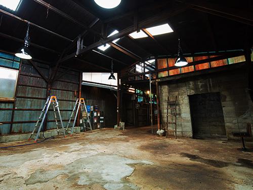 リューキデザインスタジオ 撮影スタジオ【F】廃墟鋳物工場跡の画像1