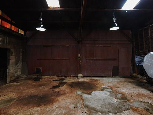 リューキデザインスタジオ 撮影スタジオ【F】廃墟鋳物工場跡の画像2