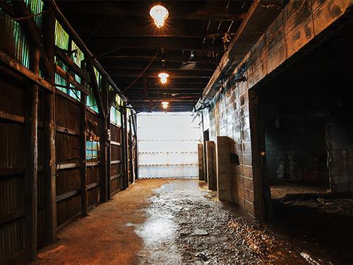 リューキデザインスタジオ 撮影スタジオ【F】廃墟鋳物工場跡の画像3