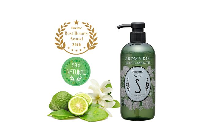 AROMA KIFI Moist & Smooth Shampoo - Bergamot & Neroli
