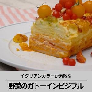 野菜のガトーインビジブル
