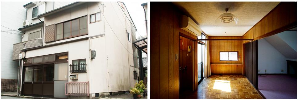 西酢屋町 京町家再生プロジェクト_パース