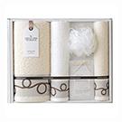 ブランドフェイス タオル&入浴剤セット/ナチュラルアイランド