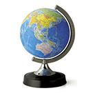地球儀 (日本地図付)
