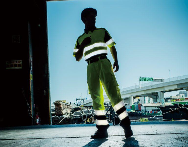 安全を守る高視認性安全服シリーズ