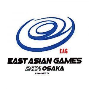 2001 年第 3 屆大阪東亞運