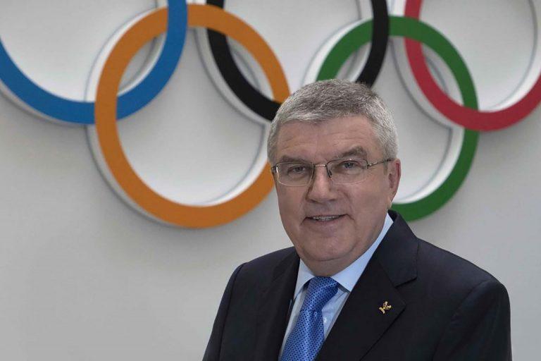 國際奧會主席發表新年談話