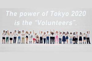 2020 東京奧運會籌備會共計收到 20 萬餘志工申請表