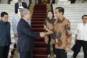 印尼正式參與 2032 奧運會申辦