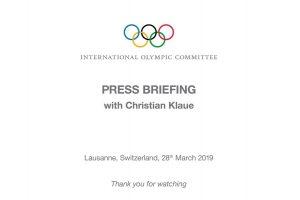 國際奧會(IOC)執行委員會在洛桑結束為期三天的會議