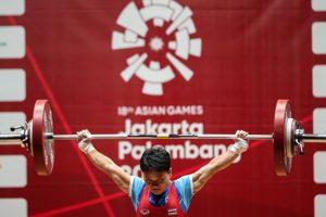 泰國舉重選手退出 2020 東京奧運