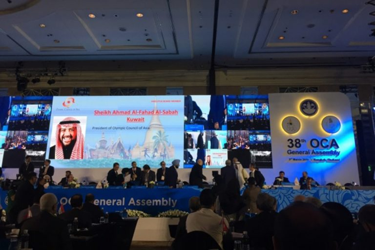 亞洲奧會改選 阿罕默德親王連任主席