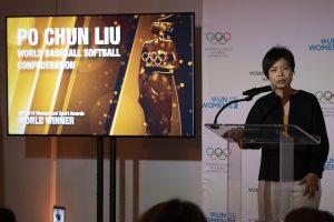 狂賀劉柏君為我國第一人 獲國際婦女與運動世界獎座