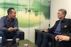 奧會交朋友計畫!中華奧會拜訪臺北市體育局