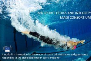 MAiSL 大學聯盟「運動道德與誠信碩士學程」課程及奧林匹克團結基金(OS)獎學金資訊