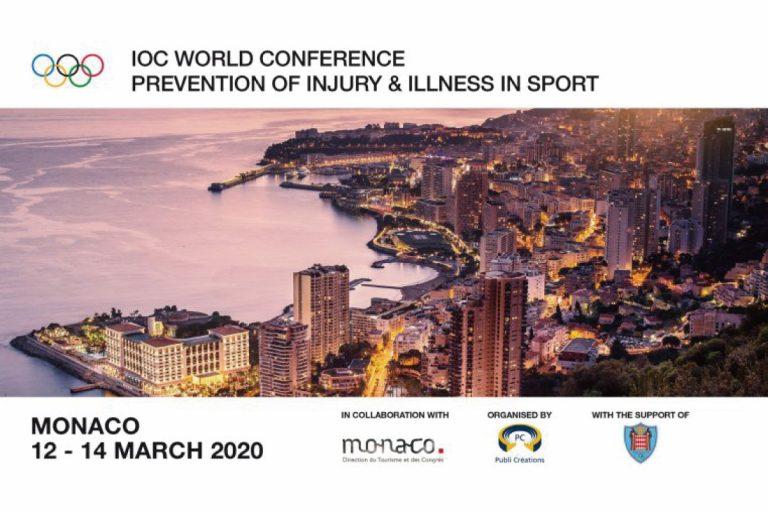 國際奧會2020世界運動傷病預防研討會開放徵件
