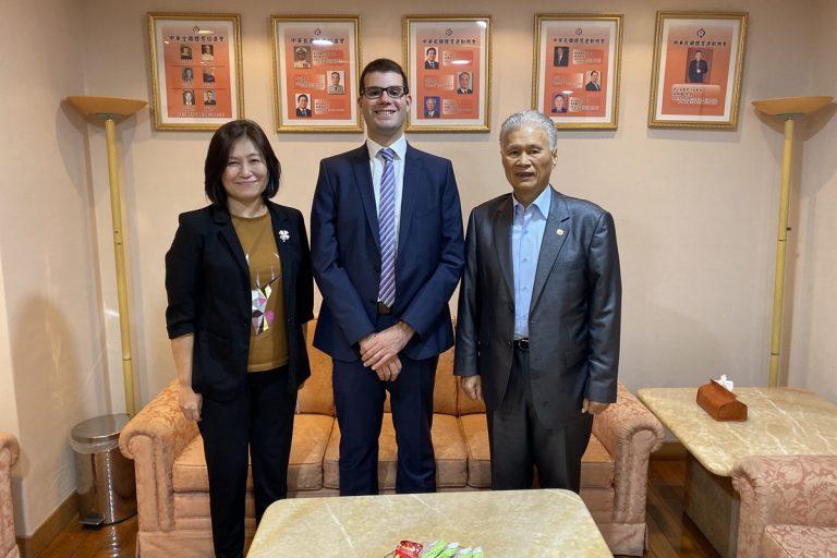 國際全民運動總會拜訪中華奧會 盼未來緊密合作