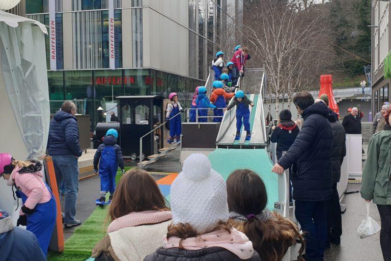 冬青奧多樣周邊活動寓教於樂 洛桑滿滿奧運味