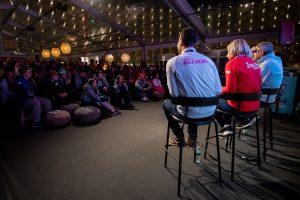 奧運冠軍面對面 選手把握機會踴躍發問