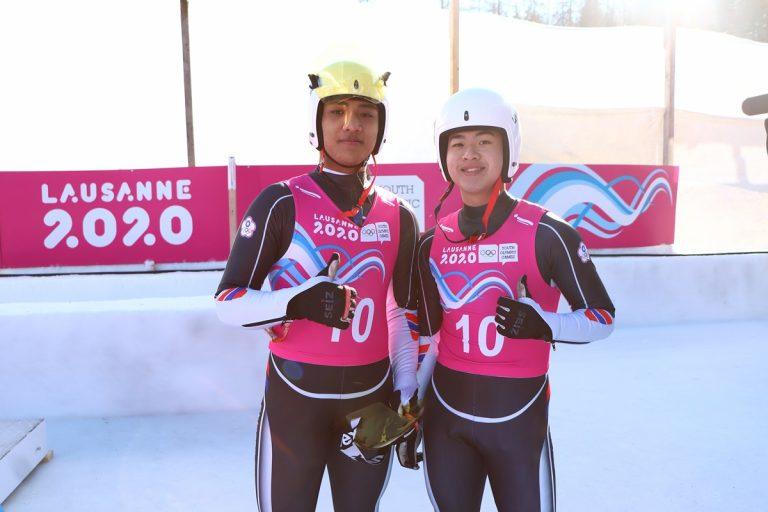 雙人雪橇排名第六 教練連德安感動滿滿