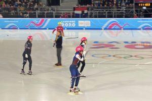 短道滑冰 1000 公尺拚出第九 張蕙追平代表隊最佳排名