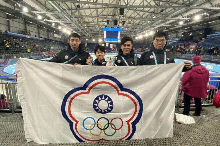 短道競速滑冰首面獎牌 張蕙國際混合接力賽摘銀