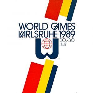 1989 年第 3 屆卡爾斯魯爾世運會