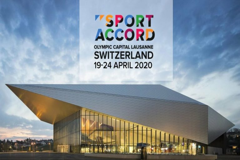 2020 年 SportAccord 世界運動及商業高峰會改於瑞士洛桑舉辦