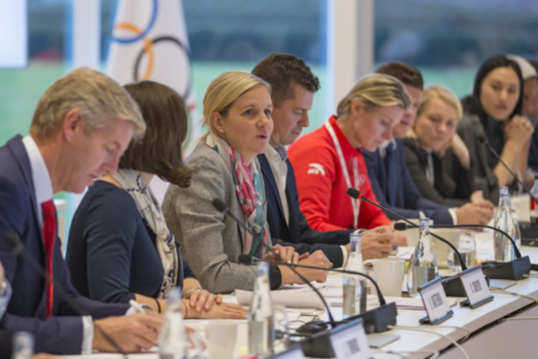 國際奧會運動員委員會聲明