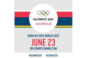 全球頂尖運動員陪你運動 歡慶國際奧林匹克日